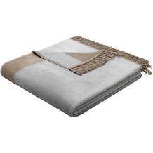Biederlack Wohndecke Orion Cotton Plus silber 150x200 cm