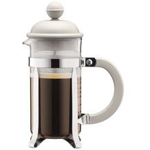 Bodum CAFFETTIERA Kaffeebereiter, 3 Tassen, 0.35 l cremefarben