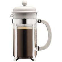 Bodum CAFFETTIERA Kaffeebereiter, 8 Tassen, 1.0 l cremefarben