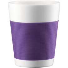 Bodum CANTEEN 2 Stück Tasse 0,2 l lila