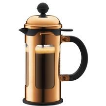 Bodum CHAMBORD Kaffeebereiter 0,35 l 3 Tassen terracotta