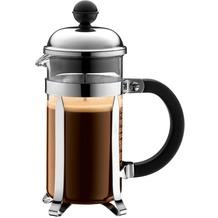 Bodum CHAMBORD Kaffeebereiter 0,35 l 3 Tassen glänzend