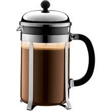 Bodum CHAMBORD Kaffeebereiter 1,5 l 12 Tassen glänzend