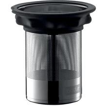 Bodum COMPONENT Edelstahlfilter mit Silikonring zu Teebereiter 0.5 l schwarz