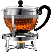 Bodum CHAMBORD SET Teekanne mit Stövchen