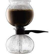 Bodum PEBO Vakuum Kaffeebereiter 1,0 l 8 Tassen schwarz