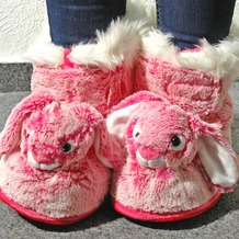 Boots Hase 41 - 43 rosa, pink