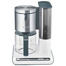 Bosch Kaffeemaschine Styline TKA 8631, weiß-anthrazit