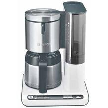 Bosch Thermo-Kaffeemaschine Styline TKA 8651, weiß-anthrazit