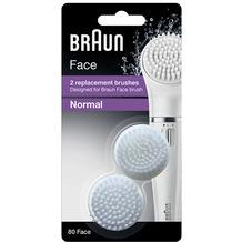 Braun Bürstenköpfe für Face Silk-epil 80