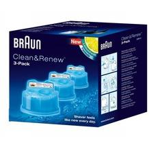 Braun CCR 3 Ersatzkartuschen Lemonfresh, 3 x 170ml