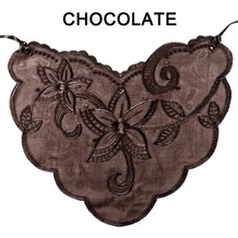 Braza Cami Lace, chocolate ONE SIZE