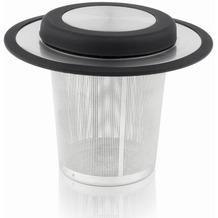 Bredemeijer Teefilter Universal mit Ablage, Edelstahl/Silikon