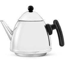 Bredemeijer Teekanne Chapeau 1,2L, schwarze Beschläge