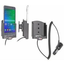 Brodit Samsung Galaxy Alpha KFZ-/Autohalterung mit Ladefunktion über Zigarettenanzünder
