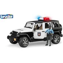 Bruder Jeep Wrangler UR Polizei+Polizist dunkel