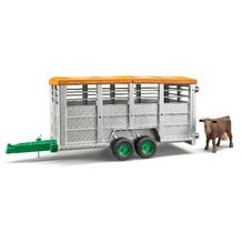 Bruder Viehtransportanhänger inkl. 1 Kuh