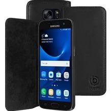 Bugatti BookCover Oslo für Samsung Galaxy S7, Schwarz