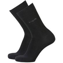 Bugatti Socken 2er-Pack schwarz 47-50