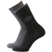 Bugatti Socken 2er-Pack schwarz 39-42