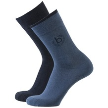 Bugatti men socks 2er icon ins.blue, 39-42
