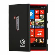 Bugatti ClipOnCover Silk für Nokia Lumia 920, schwarz