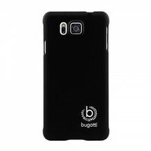Bugatti ClipOnCover Silk für Samsung Galaxy Alpha, schwarz