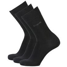 Bugatti Socken 3er-Pack schwarz 39-42