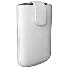 Bugatti SlimCase Leather Glossy White Size SL