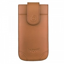 Bugatti SlimCase London - Universal - Size M - brown