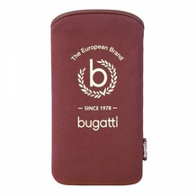 Bugatti SlimCase Tallinn Size ML, rubinrot