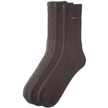 Camano Classic Sport Socken 17 dark brown 3 Paar 5943 35-38