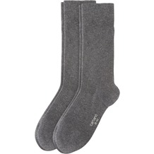 Camano Cotton Business socks 2er Pack, anthracite 43/46