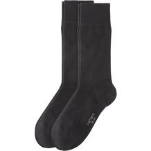 Camano Cotton Business socks 2er Pack, black 39/42
