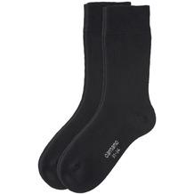 Camano Soft Socken 05 black 19-22, 2er Pack