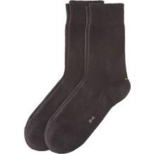 Camano Unisex Sport Socks 2er Pack black 39/42