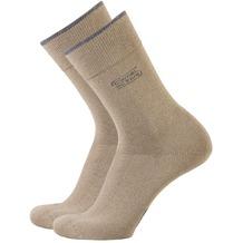 Camel active Socken 2er-Pack erdbraun 39-42