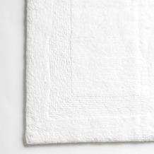 cawö Wende-Badteppich weiß 60 cm x 60 cm