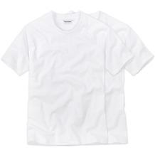Ceceba O-Shirt 1/2-Arm Doppelpack weiss Übergröße 60/4XL