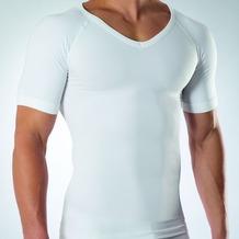 Ceceba V-Shirt, 1/2-Arm weiss L/6
