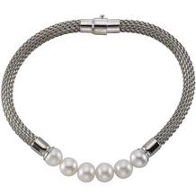 Celesta Armschmuck 925/- Sterling Silber Perlen Silbergrau