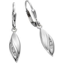 Celesta Ohrhänger 925/- Sterling Silber weiß