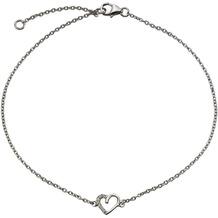 Celesta Fusskette 925/- Sterling Silber Zirkonia weiß