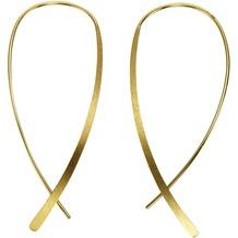 Celesta Ohrhänger 925/- Sterling Silber gelb