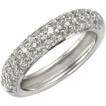 Celesta Ring 925/- Sterling Silber Zirkonia weiß 54 (17,2)