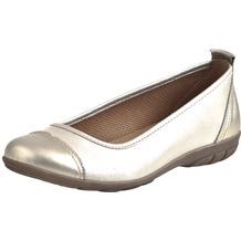 Comfortabel Damen Slipper gold 35