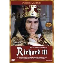 Concorde Home William Shakespeares Richard III (Classic Selection) DVD