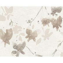daniel hechter mustertapete tapete floral natrlich beige braun metallic 10