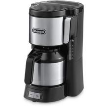 Delonghi De Longhi Thermo-Kaffeeautomat  ICM 15740  schwarz/silber