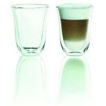 Delonghi Latte macciato 2er Doppelwandiges Thermoglas